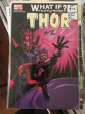 WHAT IF THOR #1 NM- 1st Print Robert Kirkman SIGNED by MICHAEL AVON OEMING