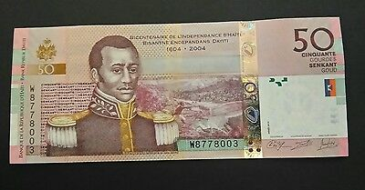 Haiti 50 Gourdes 200 years of Independence UNC