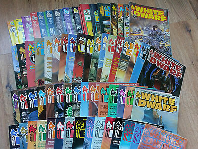 White Dwarf Back Issues Multi-Listing - Issues 1-100