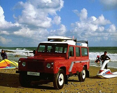 1990 Land Rover County 110 Factory Photo ca7216