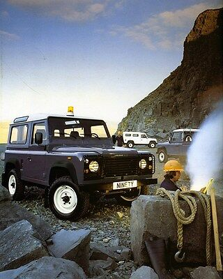 1990 Land Rover 90 Factory Photo ca7218