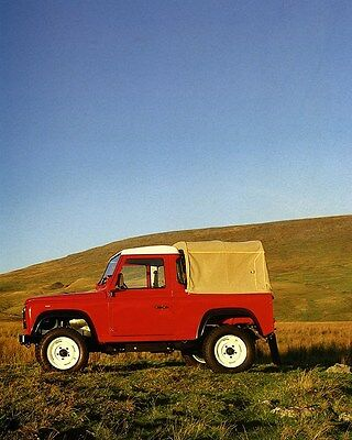 1990 Land Rover 90 Factory Photo ca7219