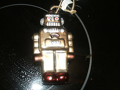 Trimsetter by Dillard's Robot Ornament with tags  No box