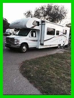 2013 Four Winds Chateau 28Z 29' Class C RV Ford V8 Gasoline Generator A/C NEVADA