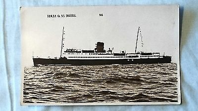 Postcard - Ship, Isle Of Man Steam Packet Company, S.S. Snaefell (P160423)