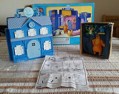 Bear in the Big Blue House Playset .  Jim Henson. Complete. Box. Rare.