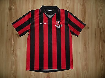 Rare Crusaders FC shirt S Macron home jersey trikot 2014-2015 Northern Ireland