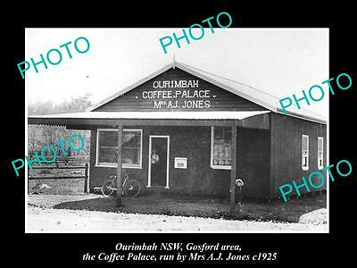 OLD LARGE HISTORIC PHOTO OF OURIMBAH NSW, GOSFORD AREA , THE COFFEE PALACE c1925