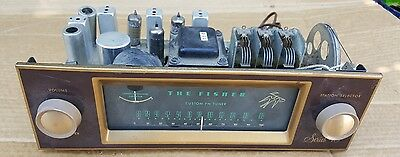 Vintage Fisher Series 40 Mono Tube FM Tuner FM-40 for repair or Part