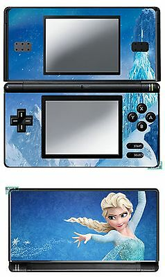 Disney Frozen Vinyl Skin Sticker For Nintendo Ds Lite Ref 21 Frozen B