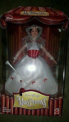 Disney MARY POPPINS Collector BARBIE Doll Jolly Holiday Edition 1999, #23590 NEW