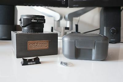Metabones Adapter Mark IV for Canon Mount Lens to Sony E-Mount EF to E