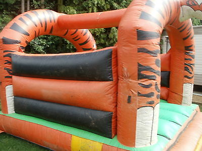 Bouncy Castle Stays Up Spares Repair With Blower Kids Garden Party