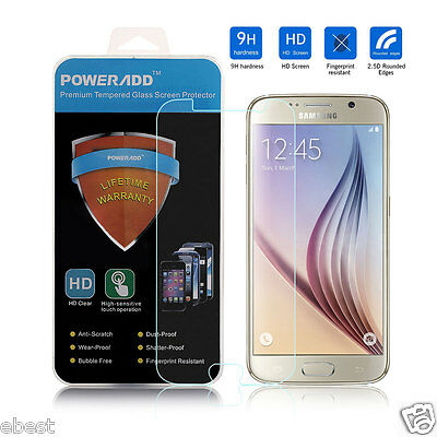 Premium Ultra Thin Screen Protector Tempered Glass Film For Samsung Galaxy S6