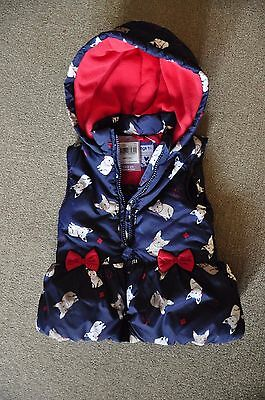 Baby girl gilet jacket brand new with tags 18-24 months