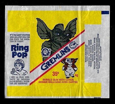 1984 O Pee Chee Opc One Wrapper Gremlins Rare