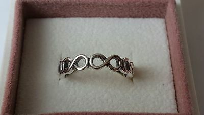 Pandora infinite Shine Ring. S925 ALE  Sterling Silver