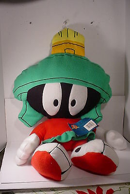 """36"""" Warner Bros Looney Tunes MARVIN THE MARTIAN Plush Doll 1997 PILLOW BUDDIES"""