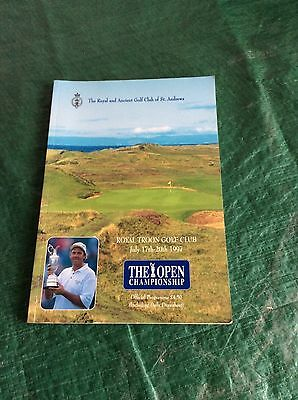 1997 Open Golf Championship Programme (Royal Troon)