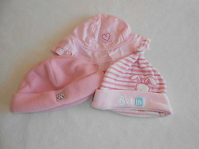 Baby Girls Clothes Bundle 0-3 Months -Bundle of Hats -