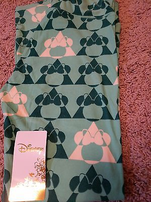 NWT LuLaRoe OS Disney Collection Minnie Mouse Leggings UNICORN One Size LLR
