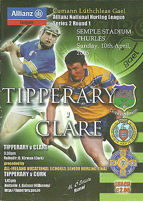 Tipperary V Clare 2005 National Hurling League