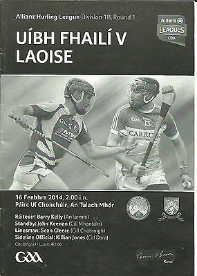 Offaly V Laois 2014 National Hurling League