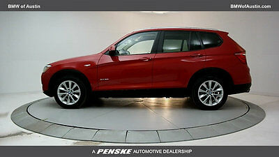 2015 BMW X3 sDrive28i sDrive28i 4 dr Automatic Gasoline 2.0L I4 DOHC 16V Melbourne Red Metallic