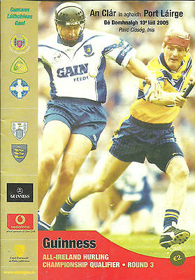 Clare V Waterford 2005 All Ireland Hurling Qualifier