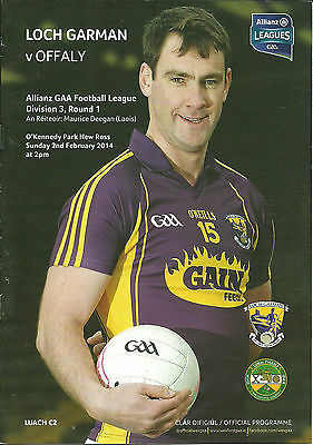 Wexford V Offaly 2014 National Football League
