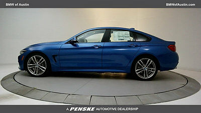 2018 BMW 4-Series 440i Gran Coupe 440i Gran Coupe 4 Series New 4 dr Automatic Gasoline 3.0L STRAIGHT 6 Cyl Estoril