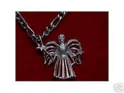 LOOK RoMaNcE LoVe pendant Celtic Fairy Godmother Wish charm Jewelry Sterling sil