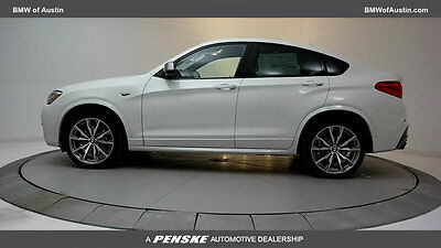 2018 BMW X4 M40i Sports Activity M40i Sports Activity New 4 dr Automatic Gasoline 3.0L STRAIGHT 6 Cyl Alpine Whit