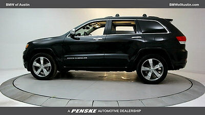 2015 Jeep Grand Cherokee  Low Miles 4 dr SUV 3.6L V6 Cyl Brilliant Black Crystal Pearlcoat
