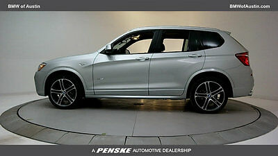 2017 BMW X3 sDrive28i Sports Activity Vehicle sDrive28i Sports Activity Vehicle New 4 dr Automatic Gasoline 2.0L 4 Cyl Glacier