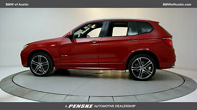 2017 BMW X3 sDrive28i Sports Activity Vehicle sDrive28i Sports Activity Vehicle New 4 dr Automatic Gasoline 2.0L 4 Cyl Melbour