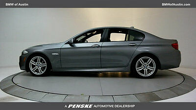 2013 BMW 5-Series 535i 535i 5 Series 4 dr Sedan Gasoline 3.0L STRAIGHT 6 Cyl Space Gray Metallic
