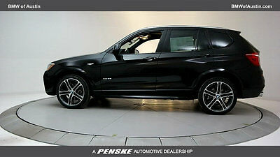 2017 BMW X3 xDrive35i Sports Activity Vehicle xDrive35i Sports Activity Vehicle New 4 dr Automatic Gasoline 3.0L STRAIGHT 6 Cy