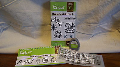 Cricut Cartridge - ORNAMENTAL IRON 2 - Gently Used - Complete!  NOT LINKED