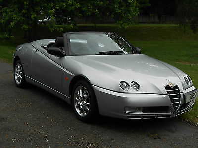 Alfa Romeo Spider 2.o Jts Lusso - 53 Reg Only 50,000 Miles - 2 Owners From New