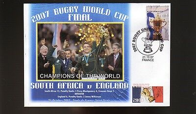 South Africa 2007 Rugby World Cup Win Cover John Smit 1