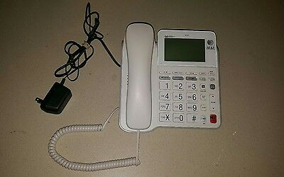 AT&T CL4940 Digital Wall Hearing Aid Compatible Speaker Phone Corded Telephone