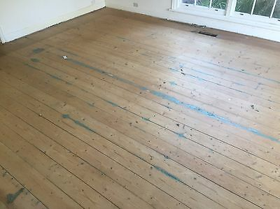 Recycled Baltic Pine Floorboards 135-140 X 19mm