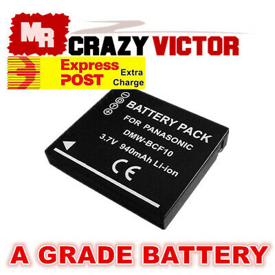 Battery for Panasonic Lumix DMC-FT3 FT3A FT2 FT4S FT4 FT1 FT1A