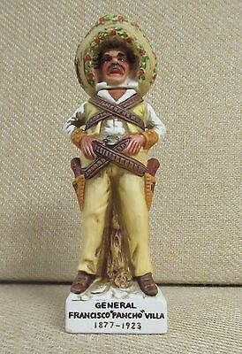 "General Francisco ""Pancho"" Villa, Miniature Liquor Decanter, Standing Pose  1972"