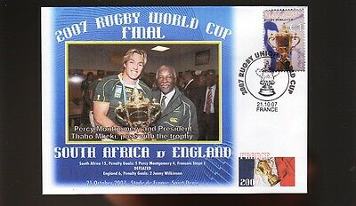South Africa 2007 Rugby World Cup Win Cov, Montgomery 3