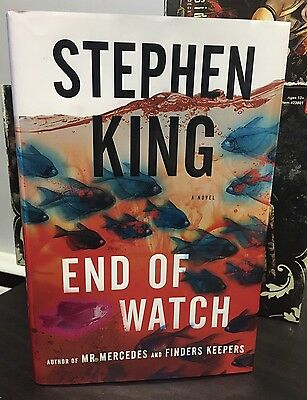 Stephen King End Of Watch Hardcover