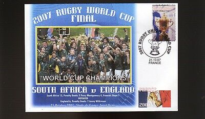South Africa 2007 Rugby World Cup Champions Sov Cover 3
