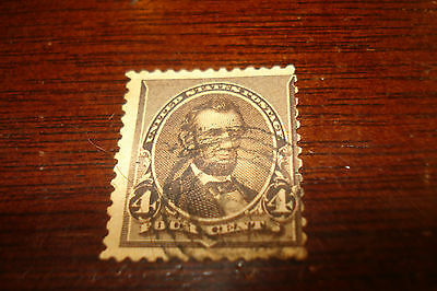 #222 - USA - American stamp - used
