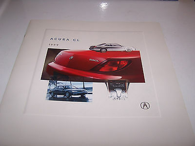 Acura Sales Brochure 1999. Excellent Condition! Nearly Mint. 20+Pages.